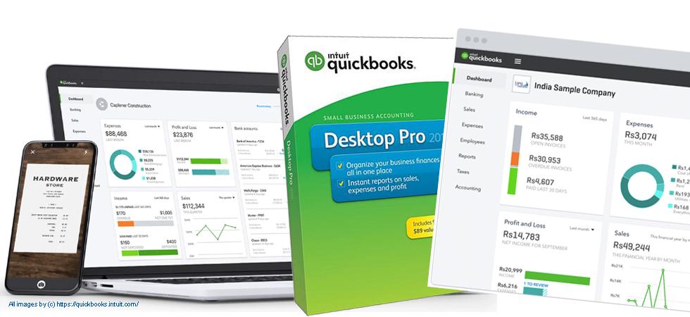 Quickbooksを活用して経理業務の効率化を。