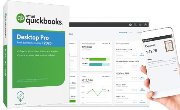 QUickbooksのインストールとセットアップ。